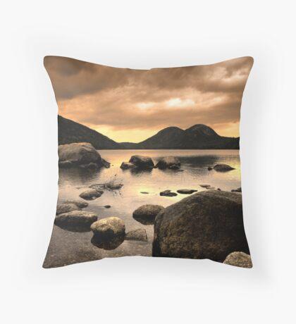Zen Stones Throw Pillow