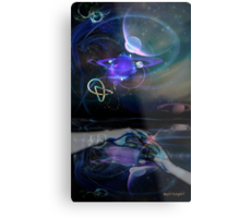All You Touch Metal Print
