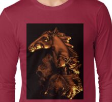 Equine Woman Long Sleeve T-Shirt