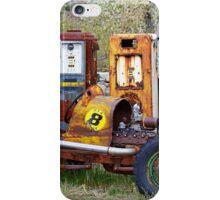 Race Car Final Pit Stop iPhone Case/Skin