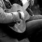 The Guitar by Mari  Wirta