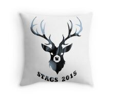 Stag do 2015  Throw Pillow
