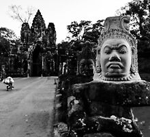 Faces of Angkor Thom by ChelcieSPorter