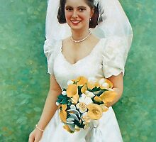 A beautiful portrait of Christine Dale captured on her very special day! Her wedding day. by allspp