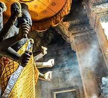 Buddha at Angkor Wat by ChelcieSPorter