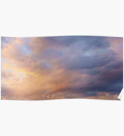 Cloud Tones Poster