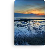Sunset from White Patch Canvas Print