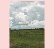 an inspiring Tanzania landscape Kids Tee