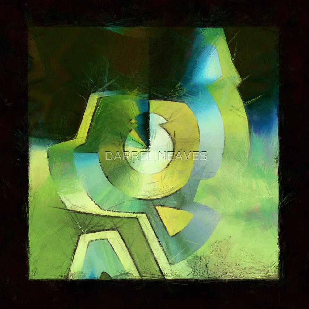 abstract 13 (DaP) by DARREL NEAVES