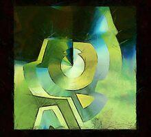 abstract 13 (DaP) by DARREL NEAVES