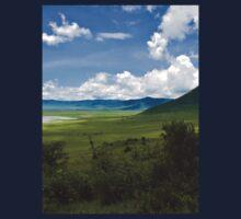 an inspiring Tanzania landscape One Piece - Long Sleeve