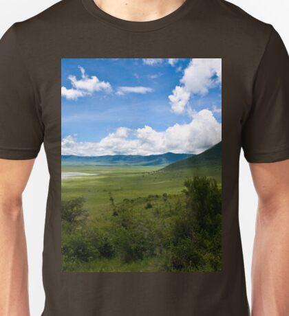 an inspiring Tanzania landscape Unisex T-Shirt