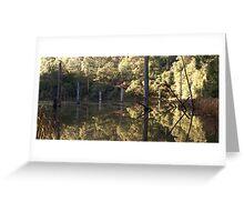 Reflections on Lake Elizabeth Greeting Card