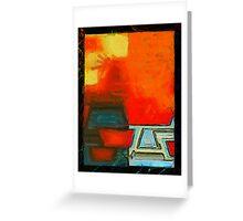 abstract 10 (DaP) Greeting Card