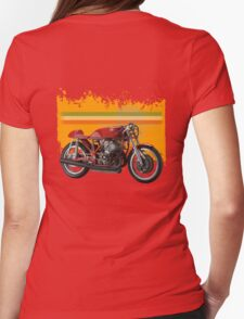 agusta 500/3 Womens Fitted T-Shirt