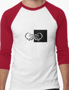 The Cool Wombats Men's Baseball ¾ T-Shirt