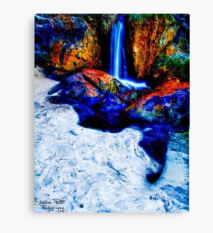 Waterfall Beach Canvas Print