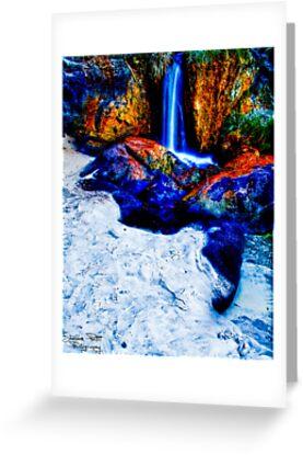 Waterfall Beach by Sheldon Pettit