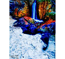 Waterfall Beach Photographic Print
