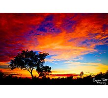 Karijini Sunrise Photographic Print