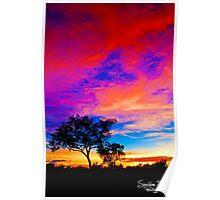 Karijini Sunrise Poster