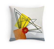 Ikebana-153 Throw Pillow
