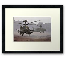 Waltz of the Hunters Framed Print