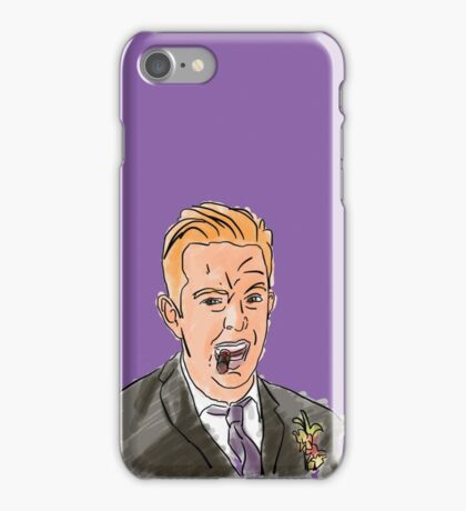 John Davies Illustration iPhone Case/Skin