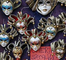 Venetian Carnival Masks by jojobob