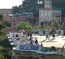"""""""Frets"""" (Parc Güell, Barcelona) by Paul Ryan"""