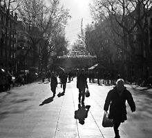 """""""La Rumbla"""" (Barcelona) by Paul Ryan"""