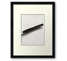An Author's Tool Framed Print