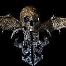 skull art a fack ed by Niiso