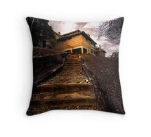 The 12 Steps to Madness Throw Pillow