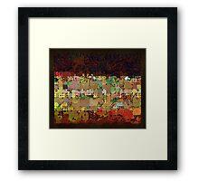 abstract 16 (DaP) Framed Print
