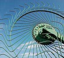 Wheel of Hay Rake  by jojobob