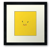 Pikachu - Pokemon Framed Print