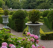 Chillingham Castle Gardens by Ryan Davison Crisp