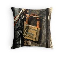 Wire Rope Throw Pillow