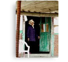 Old Lady Canvas Print