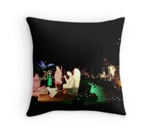 One Glorious Night Throw Pillow