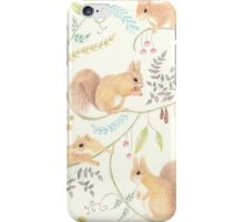 Squirrel Symphony iPhone Case/Skin