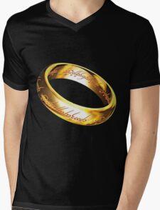 One Ring Mens V-Neck T-Shirt