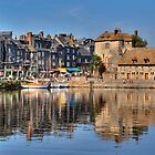 Honfleur, Normandie by Jean-Pierre Ducondi