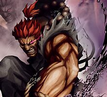 Akuma work From STREET FIGHTER !! by Scalpedmonkey