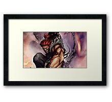 Akuma work From STREET FIGHTER !! Framed Print
