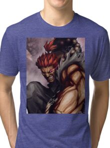 Akuma work From STREET FIGHTER !! Tri-blend T-Shirt
