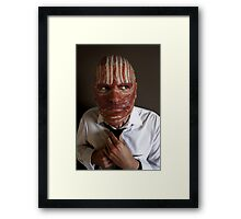 Making ends meat Framed Print