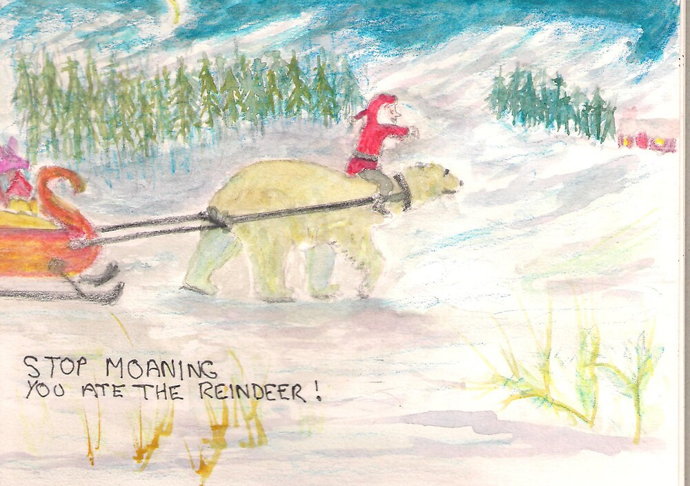 Merry christmas to you all by GEORGE SANDERSON