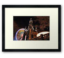 Circling Walter Scott Framed Print